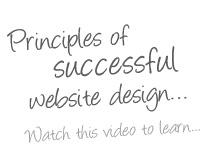 Principles of successful website design�